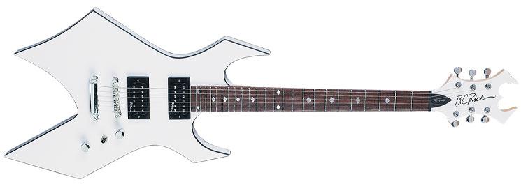 Tus 5 Guitarras favoritas Warlock_revenge_wht